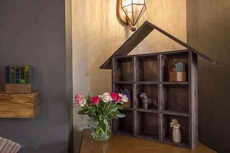 Jack Stonehouse - Rustic wooden house shaped wall shelf - Save 0%