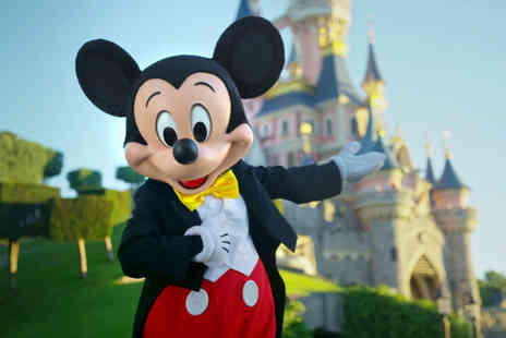 Super Escapes Travel - Two nights Disneyland Paris stay with return flights or Eurostar - Save 50%