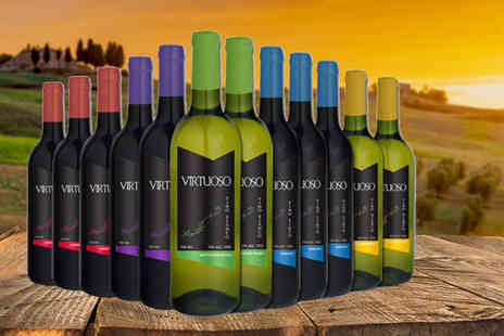 Q Regalo - Case of 12 bottles of Spanish wine - Save 70%