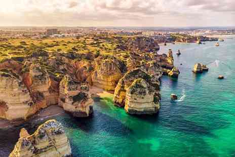 Super Escapes Travel - Three nights all inclusive Algarve holiday with return flights - Save 47%
