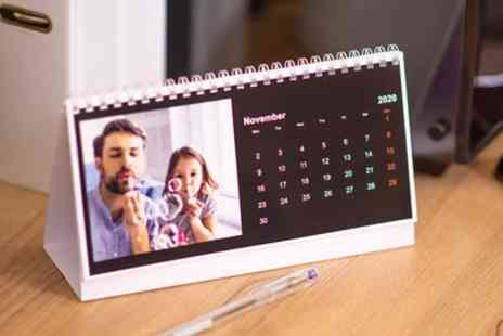 Colorland - Up to 10 Personalised Desk Calendars - Save 21%