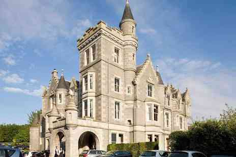 Mercure Aberdeen Ardoe House Hotel & Spa - Overnight Aberdeen mini-break for two people with breakfast, three course dinner, leisure access and late check out - Save 34%