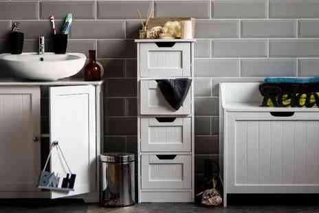 Home Discount - Bathroom drawer unit choose from three options - Save 55%
