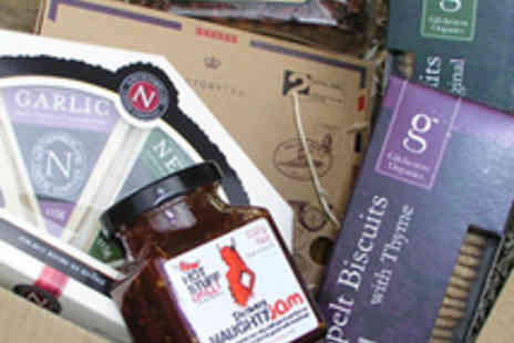 The Northumberland Cheese Company - Luxury Artisan Food Hamper with Four Cheeses - Save 53%
