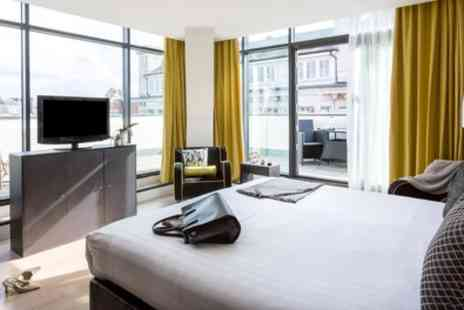 Top Secret Luxury Hotel Newcastle - Standard, King or Superior Room for Two with Breakfast and a Glass of Wine - Save 16%