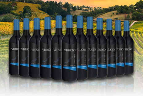 Q Regalo - 12 bottle case of mixed Virtuoso wines mix and match your wines - Save 69%