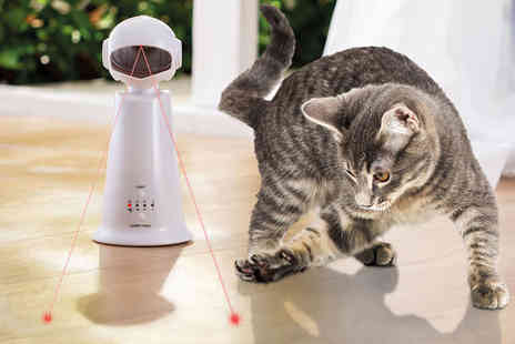CJ Offers - Interactive cat laser toy - Save 51%