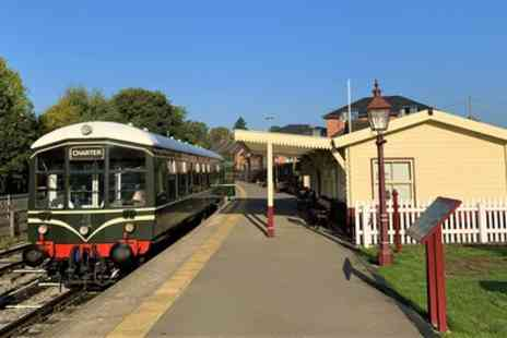 Ecclesbourne Valley Railway - One Day Peak District Train Tour Up to Family of Five - Save 35%