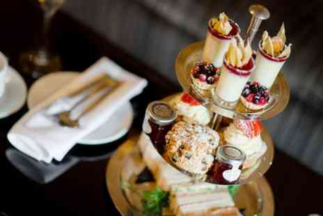 Great Hallingbury Manor - Festive Sparkling Afternoon Tea for Two or Four - Save 56%