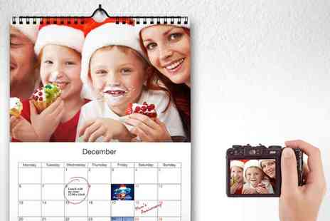 Printer Pix - Personalised Photo Calendars A Gift that will Guarantee Smiles All Year - Save 77%