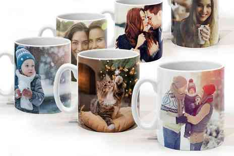 Printer Pix - Personalised Photo Mugs A Gift that will Guarantee a Smile Every Morning - Save 62%