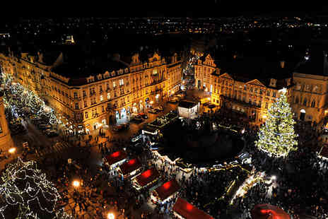 Travel Center - 2 To 3 Nights Christmas Market Break with Hotel, Breakfast and Flights - Save 0%