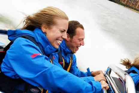 City Cruises PLC - High speed Thames boat ride for Two - Save 24%