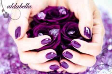 Aldabella - One Hour Luxury Manicure or Pedicure - Save 53%