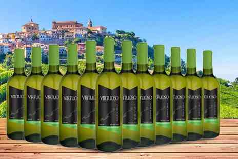 Q Regalo - 12 bottles of Spanish Virtuoso sauvignon blanc - Save 68%