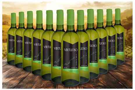 Q Regalo - 12 bottles of white Spanish wines - Save 69%