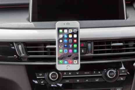 Groupon Goods Global GmbH - One or Two Apachie Magnetic Smartphone Holders For Car Air Vent - Save 0%