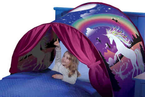 Litnfleek - Magical pop up bed tent - Save 75%