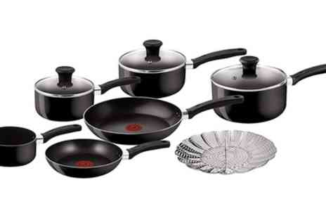 Groupon Goods Global GmbH - Tefal Delight Five or Seven Piece Cookware Set - Save 23%