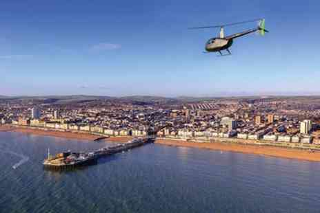HeliFly - The Brighton Quickie A Private 20 Minute Helicopter Tour of Brighton - Save 0%