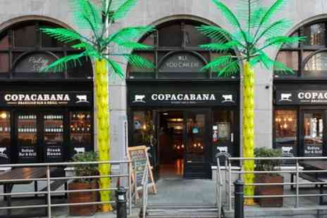 Copa Cabana Bar and Restaurant - Brazilian Lunch with Wine for One, Two or Four - Save 34%