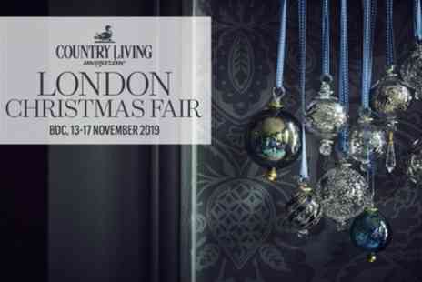 Country Living Christmas Fair - One or two tickets from 13th To 17th November and 5th To 8th December 2019 - Save 37%