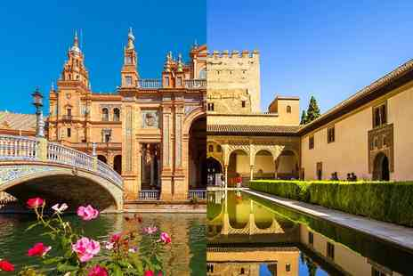 Hotel San Gil - Four Star Sun Drenched Getaway in Two Historic Andalusian Cities for two - Save 60%