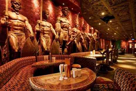 Shaka Zulu - Choice of Buffalo, Wild Boar or Beef Burger, Fries and Cocktail for Up to Four - Save 61%