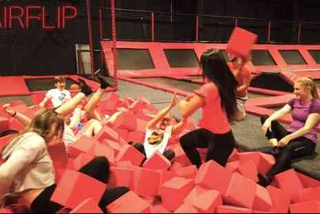 AirFlip - One Hour of Trampoline Park Access - Save 50%
