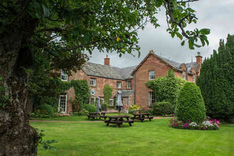 The Buccleuch Arms - Four Star Overnight stay and breakfast for two people - Save 51%