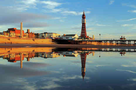 Canberra Hotel - Two nights Blackpool stay for two people with breakfast, glass of wine, parking and 12pm late check out - Save 46%