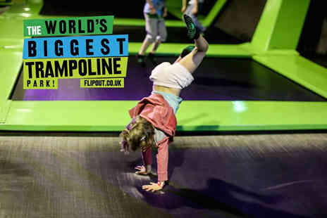 Flip Out Glasgow - Unlimited annual pass for one person for a two hour session per day - Save 60%