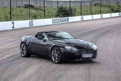 Supercar Drive Days - Three Lap Aston Martin supercar experience with a passenger hot lap for one - Save 0%