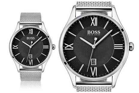 Best Watch Company - Hugo Boss Governor mens watch - Save 63%