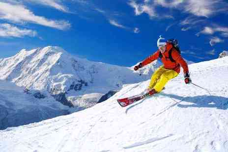 Weekender Breaks - Three nights half board Italian Alps break with spa access, ski pass and return flights - Save 23%