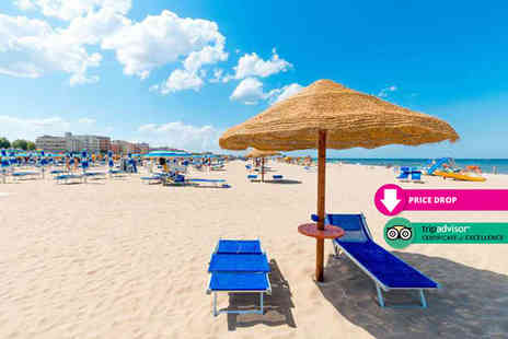 Cheap Cost Travel - Four Star Escape with a three, four, five or seven nights getaway to Rimini Now with the ability to choose your own flight - Save 0%