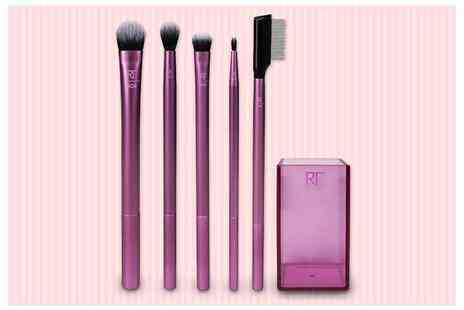Wowcher Direct - Real Techniques enhanced eye makeup brush set - Save 27%