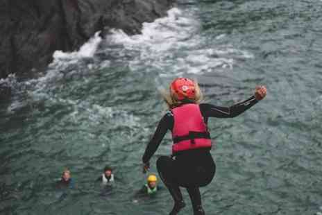 Surfing Croyde Bay - Coasteering Experience Group Coasteer Adventure - Save 0%