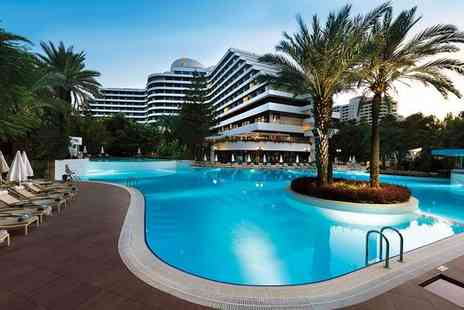 Rixos Downtown - Five Star Stunning All Inclusive Stay with Land of Legends Theme Park Entry for two - Save 66%