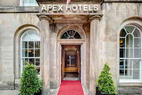Apex Waterloo Place Hotel - Four Star Characterful Georgian Hotel nearby Princes Street for two - Save 80%