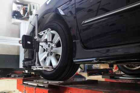 iFit Motors - Laser Wheel Alignment Check for Front Wheels Only - Save 63%
