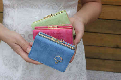 hey4beauty - 3 Fold Umbrella Purse Choose from 9 Colours - Save 65%