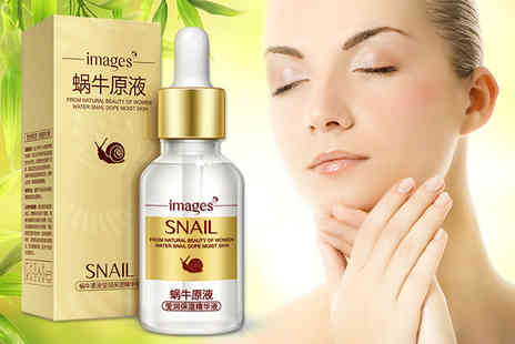 GetGorgeous - Snail extract and hyaluronic acid face serum - Save 46%