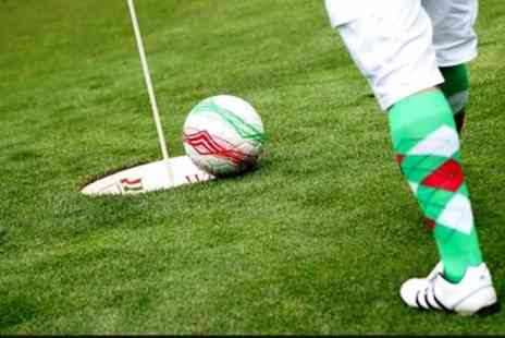 Golf Kingdom - 18 Holes of Footgolf for Adult, Child, Family or Group of Four - Save 50%