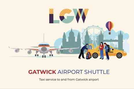 London Airport Shuttles - Gatwick to Heathrow Airport Taxi Transfer - Save 0%