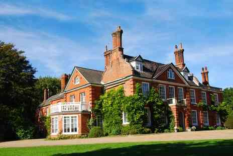 The Norfolk Mead Hotel - Four Star Elegant Country Manor with Swan Lake and Gardens for two - Save 55%