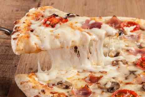 The Kings Arms Sutton Coldfield - 12 Inch Pizza to Share Between Two with Bottle of Wine for Two or Four - Save 0%