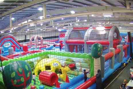 Inflatable Zone - Inflatable Bounce or Combination Party for Ten with Optional Food - Save 21%