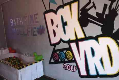 Bck Yrd Golf - Round of Mini Golf for One, Two or Four - Save 44%