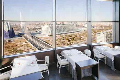 Ilunion Aqua 4 Valencia - Four Star Central City Stay by Palacio de Congresos for two - Save 62%